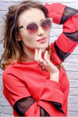 Солнцезащитные очки Miu-Miu 8018 - женская одежда, бижутерия оптом. Фото - look-and-buy.com