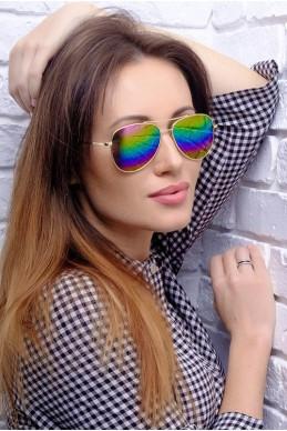 Солнцезащитные очки Ray-Ban 8030 - женская одежда, бижутерия оптом. Фото - look-and-buy.com