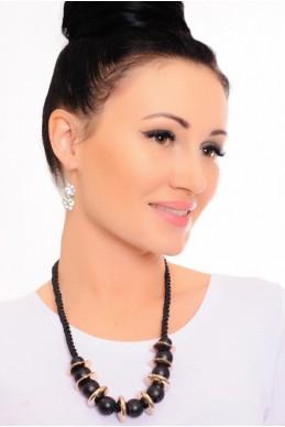 Колье  4016 - женская одежда, бижутерия оптом. Фото - look-and-buy.com