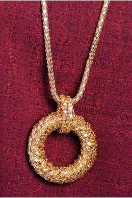 Колье 4041 - женская одежда, бижутерия оптом. Фото - look-and-buy.com