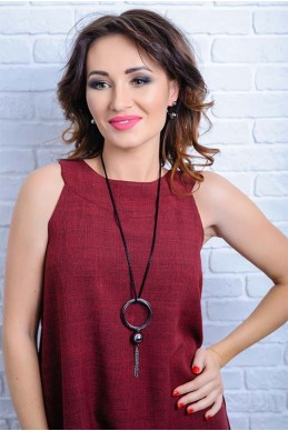 Колье 4042 - женская одежда, бижутерия оптом. Фото - look-and-buy.com