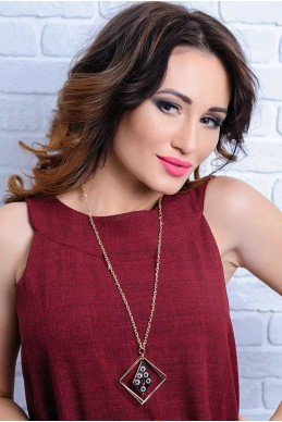 Колье 4050 - женская одежда, бижутерия оптом. Фото - look-and-buy.com