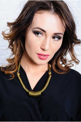 Женское украшение 4054 - женская одежда, бижутерия оптом. Фото - look-and-buy.com