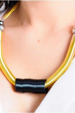 Колье 4055 - женская одежда, бижутерия оптом. Фото - look-and-buy.com