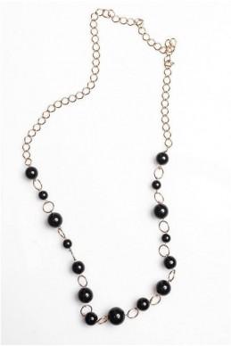 Цепочка  4018 серебро - женская одежда, бижутерия оптом. Фото - look-and-buy.com