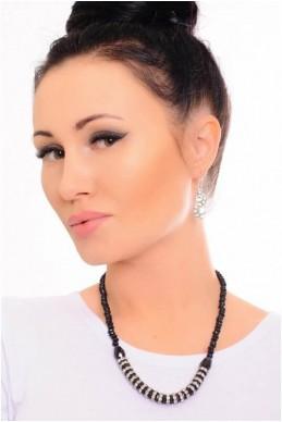 Колье  4028 - женская одежда, бижутерия оптом. Фото - look-and-buy.com