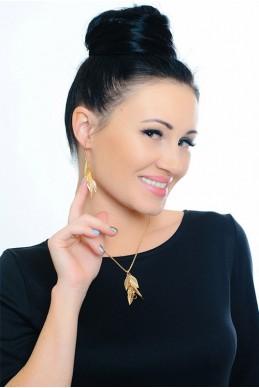 Комплект бижутерии 3003 - женская одежда, бижутерия оптом. Фото - look-and-buy.com