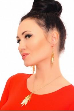Комплект бижутерии 3005 - женская одежда, бижутерия оптом. Фото - look-and-buy.com
