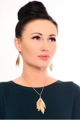 Комплект бижутерии 3006 - женская одежда, бижутерия оптом. Фото - look-and-buy.com