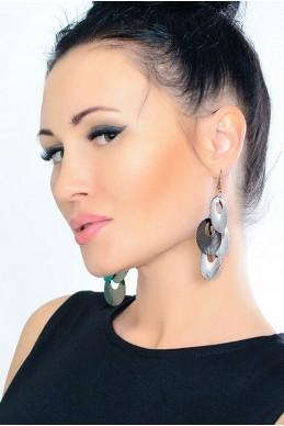 Серьги 2012 - женская одежда, бижутерия оптом. Фото - look-and-buy.com