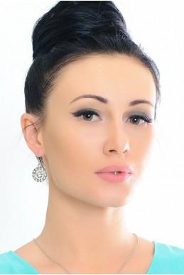 Серьги 2018  - женская одежда, бижутерия оптом. Фото - look-and-buy.com