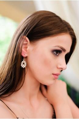 Серьги  2025  - женская одежда, бижутерия оптом. Фото - look-and-buy.com