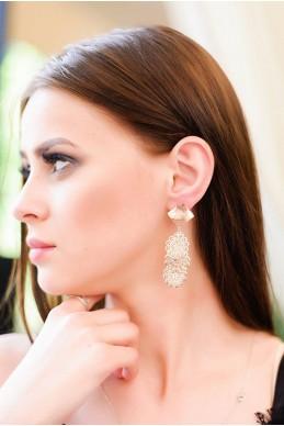 Серьги  2029 - женская одежда, бижутерия оптом. Фото - look-and-buy.com
