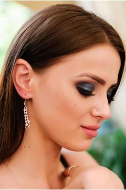 Серьги  2034 - женская одежда, бижутерия оптом. Фото - look-and-buy.com