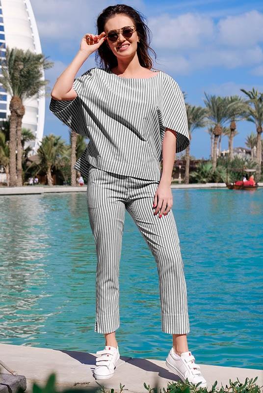 1d148676992b Летний брючный костюм Бодрум - женская одежда, бижутерия оптом.