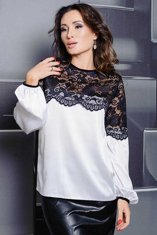 fc534d2c40e Купить Шелковая женская блузка Мери