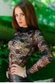 """Черный кружевной гольф """"Гипюр"""" - женская одежда, бижутерия оптом. Фото - look-and-buy.com"""