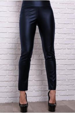 1c176af5 Модные брюки Лиора, темно-синий - женская одежда, бижутерия оптом. Фото -