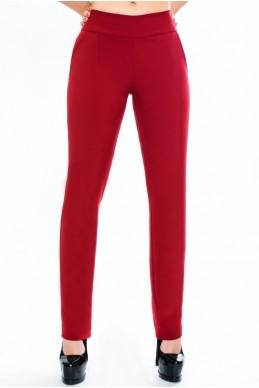 """Женские  летние брюки """"Classic"""",  бордо - женская одежда, бижутерия оптом. Фото - look-and-buy.com"""