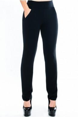 """Женские брюки в обтяжку """"Classic"""", черный  - женская одежда, бижутерия оптом. Фото - look-and-buy.com"""
