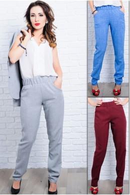 Женские льняные брюки  Крит