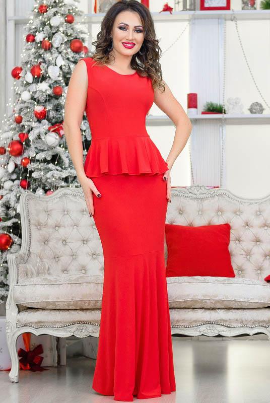 f0b90ddc2df Купить красное вечернее платье - рыбка Терра