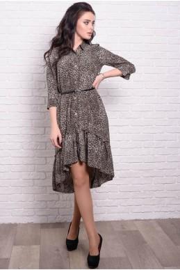 250eb18648f Стильное платье Флора Леопард. 425 ГРН