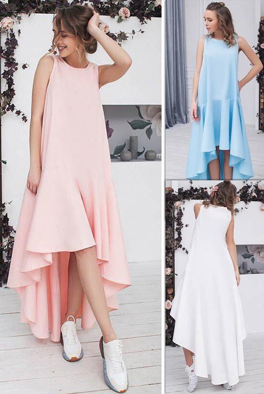 36469c387ea19c4 Платье со шлейфом Валентина | Белое | Летнее