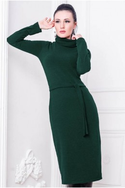 """Женское платье """"Прага"""" изумруд - женская одежда, бижутерия оптом. Фото - look-and-buy.com"""