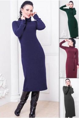 """Теплое платье """"Прага"""" - женская одежда, бижутерия оптом. Фото - look-and-buy.com"""