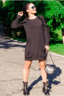 """Черное платье """"Ангелина"""""""