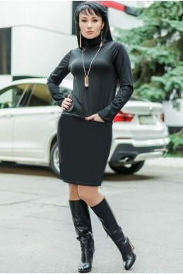 """Женское платье """"Шопен"""" , черный  женская одежда оптом от производителя. Фото - Доставка по СНГ - look-and-buy.com"""