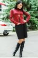 """Трикотажное платье """"Шоппен"""" до р.56 - женская одежда, бижутерия оптом. Фото - look-and-buy.com"""