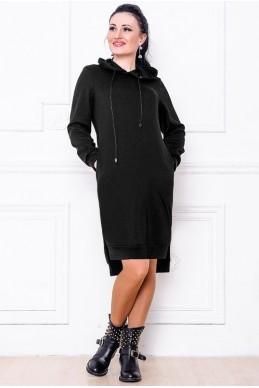 """Платье """"NEXT"""" черный  женская одежда оптом от производителя. Фото - Доставка по СНГ - look-and-buy.com"""