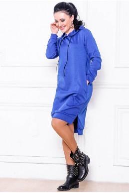 """Купить Платье """"NEXT"""" электрик - женская одежда, бижутерия оптом. Фото - look-and-buy.com"""