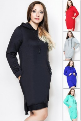 """Платье туника """"NEXT"""" БАТАЛ - женская одежда, бижутерия оптом. Фото - look-and-buy.com"""