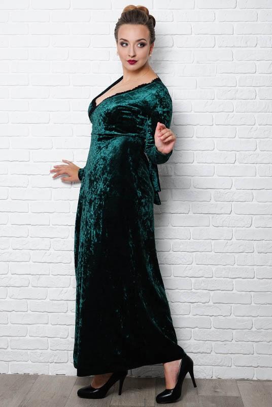 2d55f07f4ea Вечернее платье в пол Грация