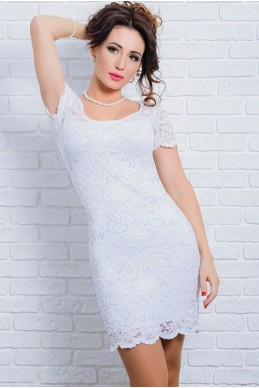 5b64c1eb487ed63 Белое гипюровое платье Изабелла