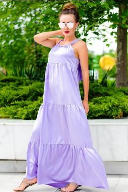 Женское платье в стиле Ампир Кимберли лавандовый - женская одежда, бижутерия оптом. Фото - look-and-buy.com