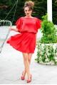 Шелковое летнее платье Шарлотта - женская одежда, бижутерия оптом. Фото - look-and-buy.com