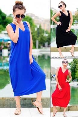 Стильное  летнее платье Ева  женская одежда оптом от производителя. Фото - Доставка по СНГ - look-and-buy.com