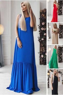 Шикарное длинное платье Скарлетт