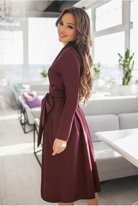 0d0a4243d4b1a67 Купить платье на запах Аврора от производителя Украина