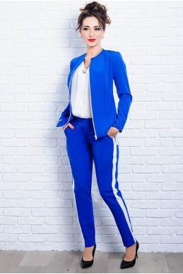 Женский стильный костюм РЕЙЧЕЛ электрик - женская одежда, бижутерия оптом. Фото - look-and-buy.com