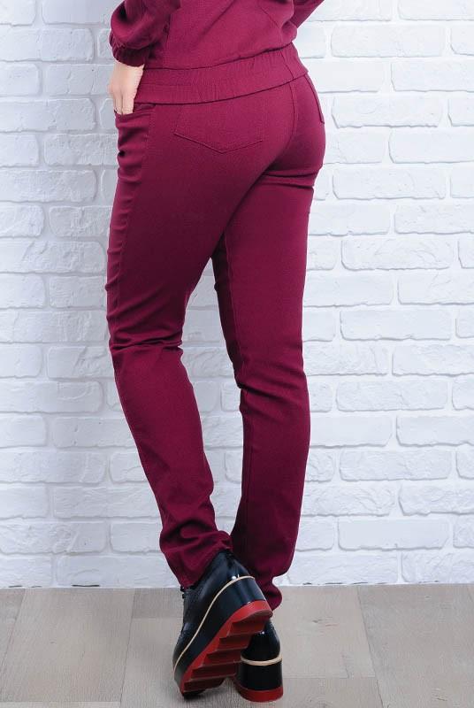 d0df2a97647 Купить Бордовые женские джинсы Мексика оптом