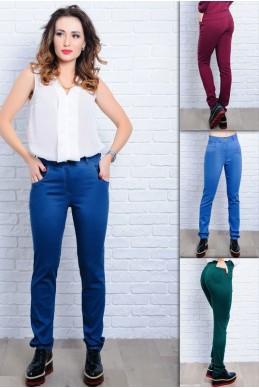 Женские джинсы Мексика с высокой посадкой - женская одежда, бижутерия оптом. Фото - look-and-buy.com