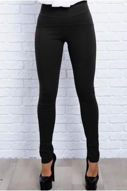 Черные Джеггинсы-леггинсы  Лесли  - женская одежда, бижутерия оптом. Фото - look-and-buy.com