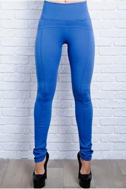 Джеггинсы-леггинсы  Лесли голубой - женская одежда, бижутерия оптом. Фото - look-and-buy.com