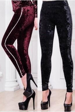 Стильные лосины Велюр - женская одежда, бижутерия оптом. Фото - look-and-buy.com