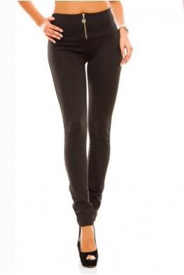 """Черные теплые лосины """"Лайла"""" - женская одежда, бижутерия оптом. Фото - look-and-buy.com"""